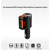 bc09 bluetooth kit de coche manos libres al encendedor de cigarrillos / reproductor de mp3