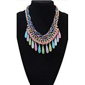 Mujer Gota Moda Estilo lindo Europeo Estilo popular Collares con colgantes Collares Declaración Legierung Collares con colgantes Collares