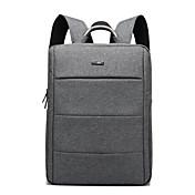impermeable unisex portátil mochila mochila mochila bolsa de viaje mochila escolar de 15,6 pulgadas para el macbook / dell / hp, etc.