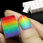 8本ネイルアートツールのグラデーションネイルカラーフェードマニキュアDIYの創造的なネイルアクセサリー用品の柔らかいスポンジ
