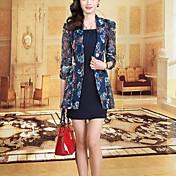 ストリートファッション ワーク シース ドレス,プリント シャツカラー 膝上 ポリエステル 夏 ミッドライズ マイクロエラスティック