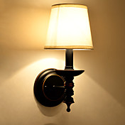 AC 100-240 60w E12/E14 Tradicional/ Clásico / Rústico/ Campestre Pintura Característica for Mini Estilo,Luz Ambiente Candelabro de pared