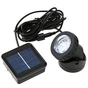 3W LEDソーラーライト 300 lm クールホワイト DIP LED 装飾用 / 防水 / 充電可 <5V V 1枚