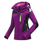 GQY® 女性用 スキージャケット 保温 防風 耐久性 スキー ウィンタースポーツ ポリエステル
