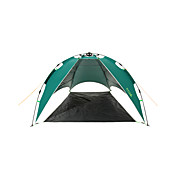 Makino 2人 テント ダブル キャンプテント 1つのルーム 自動テント 防風 抗紫外線 防塵 のために 釣り ビーチ 屋外 旅行 <1000mm ポリエステル cm