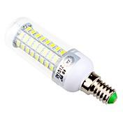 7.5 E14 / E26/E27 LEDコーン型電球 T 72 SMD 5730 960 lm 温白色 / ナチュラルホワイト 装飾用 交流220から240 V 1個