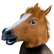 Cabeza de Caballo Máscaras de Halloween Accesorios de Halloween Máscara Animal Juguetes de Halloween Juguetes Cabeza de Caballo Tema de