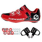 BOODUN/SIDEBIKE® Sneakers Sko til landevejscykling Cykelsko Cykelsko m. pedal og tåjern Unisex Dæmpning Ultra Lys (UL) Vej Cykel Klassisk