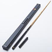 OMINスヌーカーキュープロの3/4黒の黒檀のお尻灰シャフト手作りビリヤードキューエメラルド