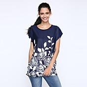 Mujer Estampado - Camiseta Seda