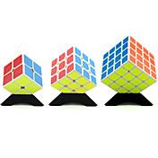 Rubik's Cube YongJun Cubo Macio de Velocidade 2*2*2 3*3*3 4*4*4 Velocidade Nível Profissional Cubos Mágicos Quadrada Ano Novo Natal Dia