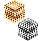 Juguetes Magnéticos Bolas magnéticas 2*216 Piezas 3mm Juguetes Metal Magnético Esfera Cilíndrico Carnaval Cumpleaños Día del Niño Año