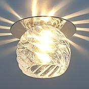 Luces de Techo Blanco Cálido Blanco Fresco Cristal LED Mini Estilo Bombilla Incluida 1 pieza