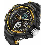 SANDA Hombre Reloj Deportivo Reloj Militar Reloj elegante Reloj de Moda Reloj de Pulsera Digital Cuarzo Japonés Despertador Cronógrafo