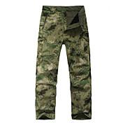 Pantalones de caza con camuflaje Impermeable Mantiene abrigado Resistente al Viento Forro Polar Aislado Listo para vestir Transpirable