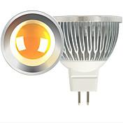 ledスポットライトmr16 1コブ600lm暖かい白コールドホワイト2700-3000k / 6000-6500k DC 12V