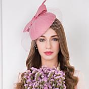 fascinators de tul de red de tul sombreros de estilo femenino clásico
