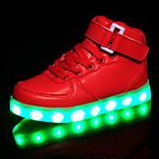 Chica Zapatillas de deporte Confort Zapatos con luz Cuero Primavera Verano Otoño Invierno Deportivo Casual Confort Zapatos con luzCierre