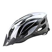 バイクヘルメット 18 通気孔 CE サイクリング 調整可 バイザー付き 超軽量(UL) スポーツ PC EPS ロードバイク レクリエーションサイクリング サイクリング / バイク マウンテンバイク
