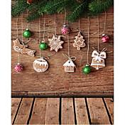 Vánoční pozadí Photo Studio Fotografie kulis 5x7ft