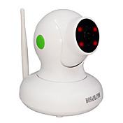 HOSAFE 2.0 MP PTZ 屋内 with 赤外線カット 32(デイナイト モーション検出 デュアルストリーム リモートアクセス IRカット ワイファイ・プロテクテッド・セットアップ(WPS) プラグアンドプレイ)