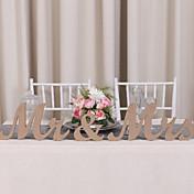 Fiesta de Boda Madera Decoraciones de la boda Tema Clásico Invierno Primavera Verano Otoño Todas las Temporadas