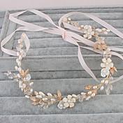 真珠のヘッドバンドヘッドピースの結婚式の優雅な女性のスタイル