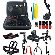 Accesorios Kit Anti golpe Todo en Uno por Cámara acción Gopro 5 Xiaomi Camera Gopro 4 Gopro 3 Gopro 2 Gopro 1 Deportes DV Garmin Virb X