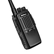 wanhua 825 Walkie Talkie  Portátil Analógico Aviso Por Batería Baja Función de Ahorro de Energía >10KM >10KM 6 Walkie talkie Radio de dos
