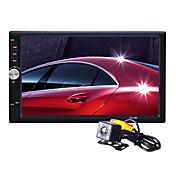 日産、トヨタのUniveral用リアビューカメラとautoradio 7インチ2 DINのHDタッチ車MP5 MP3 MP4プレーヤーステレオブルートゥース、FMラジオ、USB