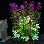 Dekorace akvária Vodní rostlina Netoxické a bez chuti Plast