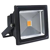 50w caliente llevado proyector de la lámpara de proyección de la luz de inundación al aire libre de la luz de calle impermeable blanco