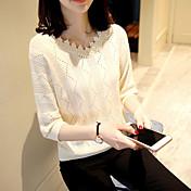 4479#2017記号半袖セーターをバックアップスリムな第五スリーブ半袖タートルネックのセーターの女性をヘッジ