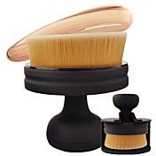 1 Cepillo para Colorete Cepillo Corrector Cepillo para Base Contour Brush Pelo Sintético Profesional Viaje Ecológico Portable Resina