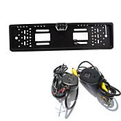estacionamento sistema de assistência de estacionamento traseira wireless visão da câmera auto 4LED CCD HD 1080p retrovisor reverter
