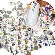 1 bag Unha Arte Decoração strass pérolas maquiagem Cosméticos Designs para Manicure