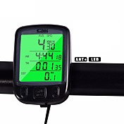 Ciclismo/Bicicleta Bicicleta de Montaña Ordenador de BicicletaVelocidad Promedio - Av Odómetro - Odo Velocidad Actual - SPD