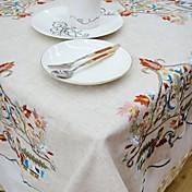 mantel cuadrado bordado en venta mantel de bordado mantel clásico mantel 85 * 85cm
