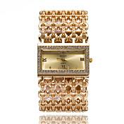 Mujer Reloj Pulsera Reloj Casual Reloj de Moda Reloj de Pulsera Cuarzo Diamantes Sintéticos La imitación de diamante Acero Inoxidable