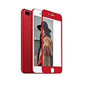 アンチグレアをカバースクリーンプロテクター3Dフルカバー強化ガラスシームレスプラスiphone 7のための中国の赤いソフトエッジをZXD