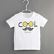 男の子 カジュアル/普段着 プリント コットン Tシャツ 夏 半袖