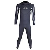 WINMAX Hombre 3mm Drysuits Traje de neopreno completo Impermeable Mantiene abrigado Secado rápido Aislado Transpirable Compresión Neopreno
