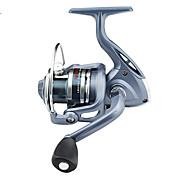 Carrete Spinning / Carrete de la pesca Carretes para pesca spinning 5.5:1 6 Rodamientos de bolas -Manos / Zurdo / IntercambiablePesca de