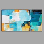 手描きの 抽象画 横長,Modern 欧風 1枚 キャンバス ハング塗装油絵 For ホームデコレーション