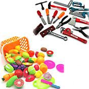 Rollelegetøj Byggeværktøjer toy Foods Legetøj Legetøj Simulering Børne Drenge Stk.