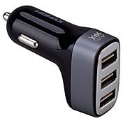 Carga Rápida QC3.0 Puertos Múltiples Otros 3 Puertos USB Solo Cargador DC 5V/4.2A
