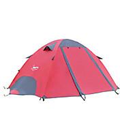 DesertFox® 2 Personas Tienda Doble Carpa para camping Una Habitación Tienda de Campaña Plegable Impermeable Resistente a la lluvia para