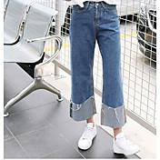 レディース ストリートファッション ミッドライズ ワイドレッグ マイクロエラスティック ジーンズ パンツ ゼブラプリント