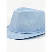 ユニセックス オールシーズン ヴィンテージ カジュアル リネン 純色 ベレー帽