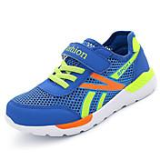 Chico Zapatos Tul Primavera / Verano Suelas con luz Zapatillas de Atletismo Running Cinta Adhesiva para Blanco / Azul Oscuro / Azul Real